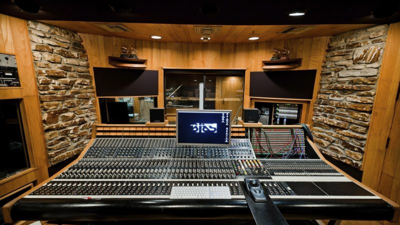 Music recording studio- selects the right for a big hit